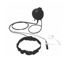 适配于摩托罗拉GP329EX对讲机头骨振动耳机PMMN4055