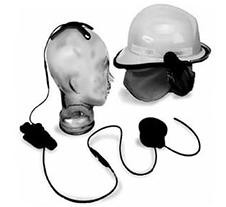 适配于摩托罗拉GP329EX对讲机喉骨振动耳机PMMN4056