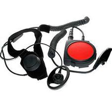 摩托罗拉带有PTT键的喉骨振动耳机5004001K01+ENLN4135