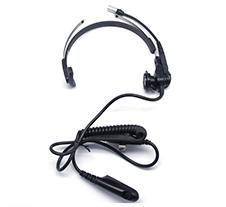 摩托罗拉带消噪旋转臂麦克风的轻型头戴式耳机AZRMN4018